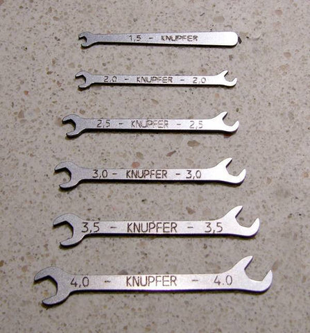 Wrench, Open-Ended Set - T037