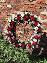 Standing Wreath- The Patriot