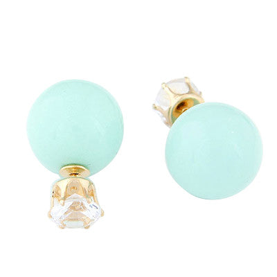 Double Pearls - Crystal Mint