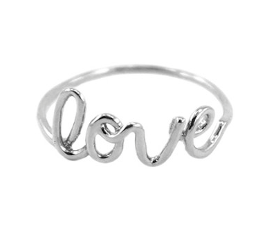 Love Ring - Silver