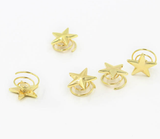 Gold Star Clips