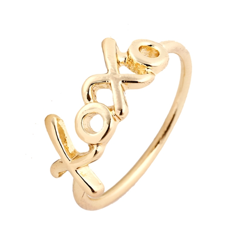 XOXO Ring - Gold