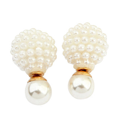 Double Pearls - Caviar White