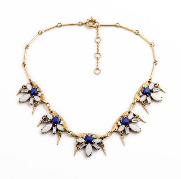 Blue Danube Necklace