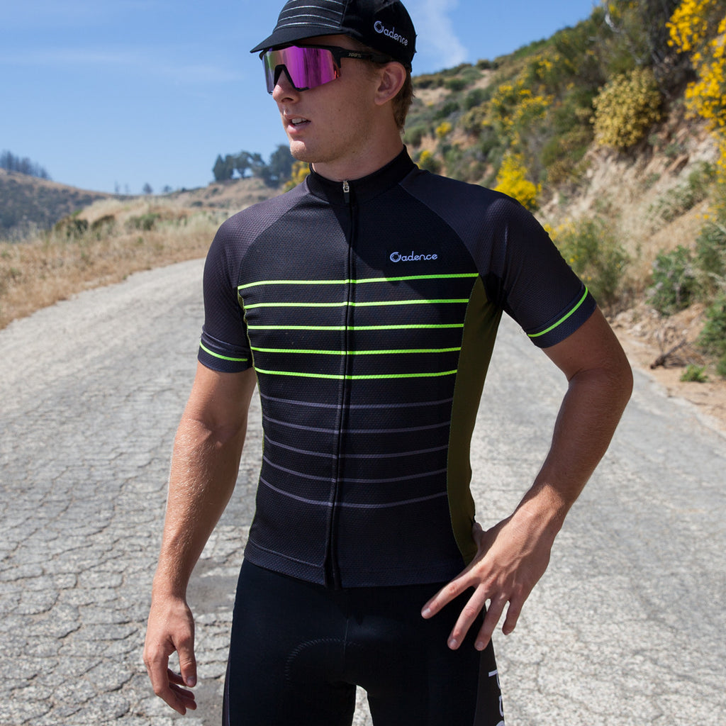 Cadence Hurst Race-fit Jersey - black
