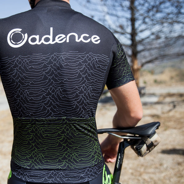 Cadence Pulsar 2.0 Race-fit Jersey - Black