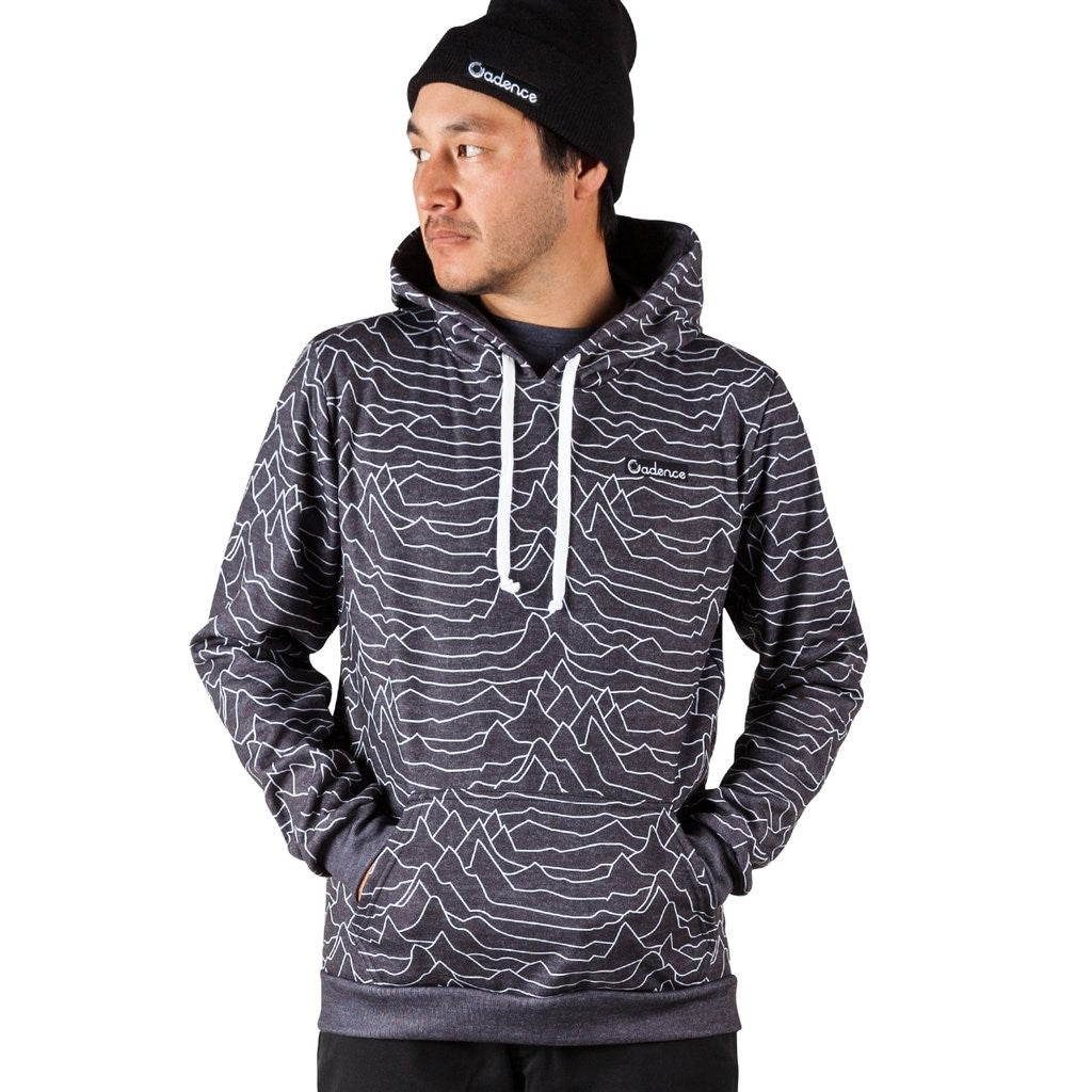 Cadence Pulsar Pullover Hoodie - Heather Black
