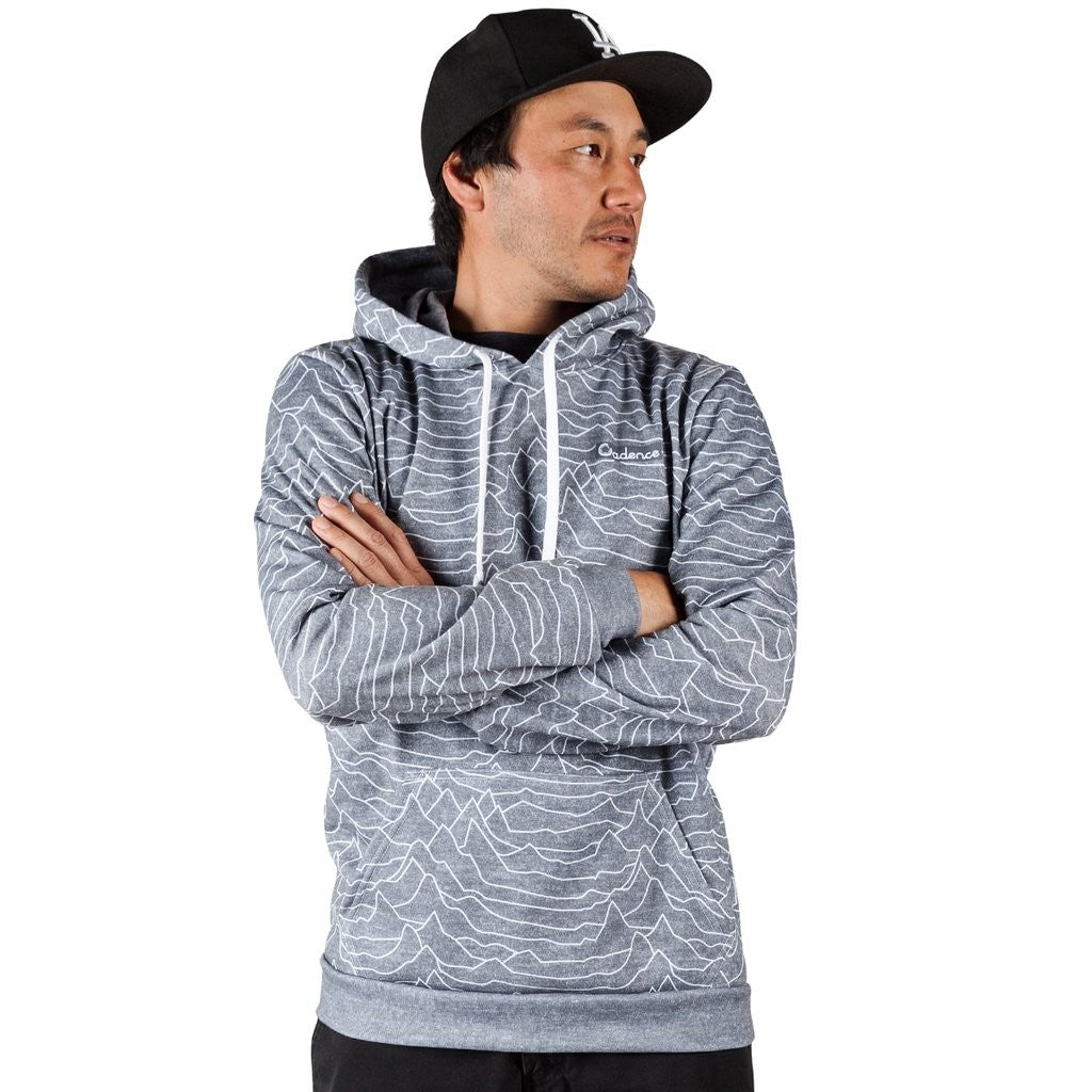 Cadence Pulsar Pullover Hoodie - Heather Grey