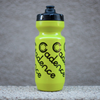 Cadence Halftone Script Cycling Water Bottle - Hi Viz