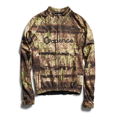 Cadence Reel Camo Long Sleeved Cycling Jersey