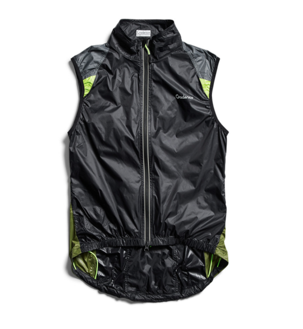 Cadence cycling gillet - Diablo wind vest - Colour Block
