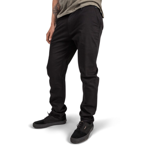 Cadence Chico Chino Cycling Pants- Black