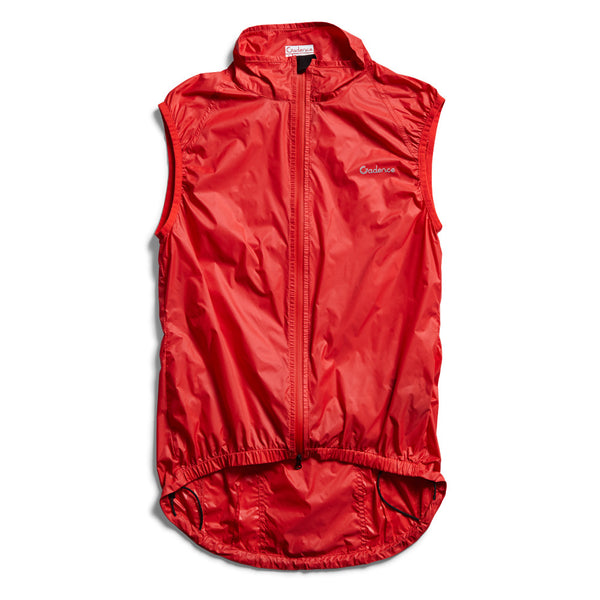 Jacket - Cadence Diablo Wind Vest- Red
