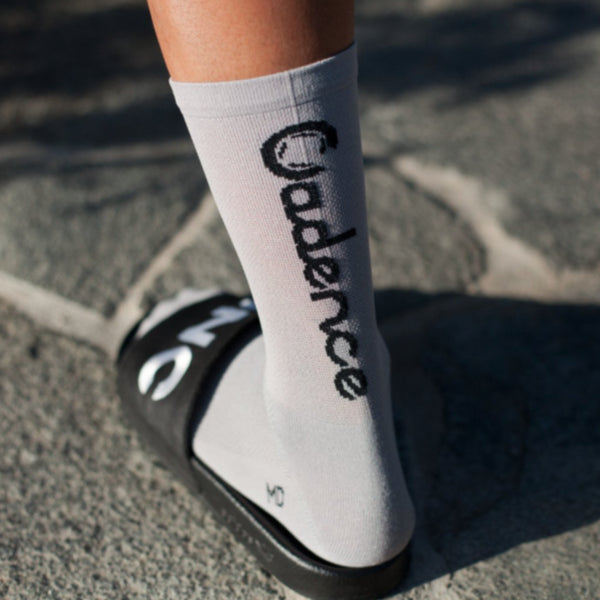 Cadence Socks - Stock Light Grey Socks