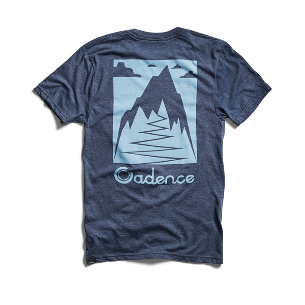 Cadence Tee - KING OF THE HILL T-SHIRT - NAVY HTHR