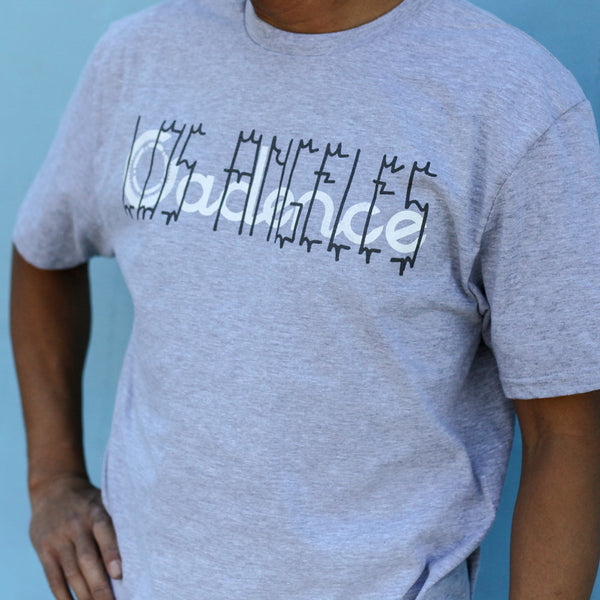 Cadence Tee - LA OVERLAY GREY - Small And Medium
