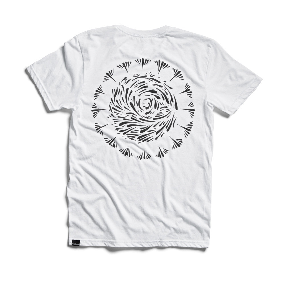 Tee - SCRIPT PLUS T-SHIRT - WHITE TRI BLEND