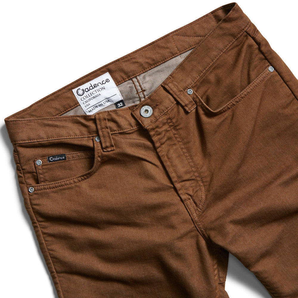 Trousers - Cadence Twill Trousers - Brown