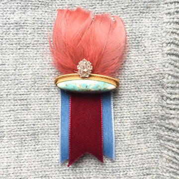 "Vintage broche ""Esther"" Vintagebrooch"