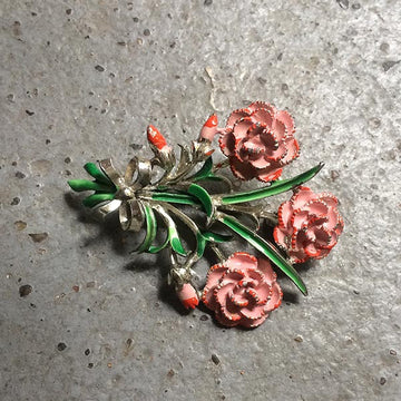 Exquisite rose brooch no20