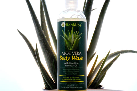 Aloe Vera Body Wash with Aloe Essential Oil