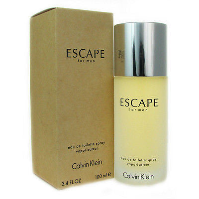 * ESCAPE * Calvin Klein COLOGNE * 3.4 oz New SEALED 3.3