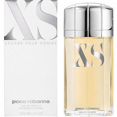 XS by PACO RABANNE Excess 3.3 oz / 3.4 oz Cologne New in Box