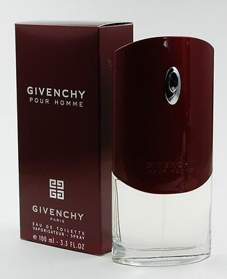 GIVENCHY pour HOMME (REG.) Cologne 3.4 oz NEW in BOX