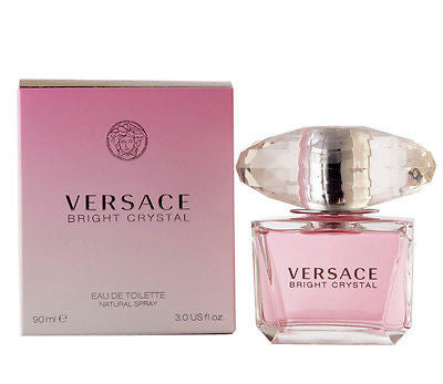 BRIGHT CRYSTAL - VERSACE Perfume 3.0 oz New in Box