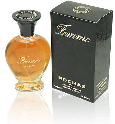 FEMME by Rochas Perfume 3.3 oz / 3.4 oz for Women New in Box