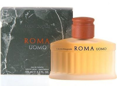 ROMA UOMO by Laura Biagiotti Cologne 4.2 oz New in Box