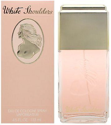 WHITE SHOULDERS * Perfume * 4.5 Spray * NEW in BOX