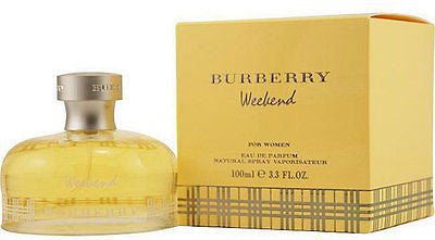 WOMEN BURBERRY WEEKEND Perfume 3.3 oz / 3.4 oz edp New in Box
