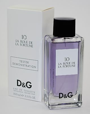 10 LA ROUE DE LA FORTUNE - Dolce & Gabbana  D & G Cologne Women 3.3 / 3.4 oz NEW