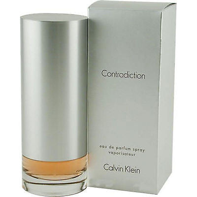 * CONTRADICTION Calvin Klein * 3.4 oz edp Perfume SEALE