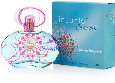 INCANTO CHARMS ~ Salvatore Ferragamo 3.4 oz Perfume New in BOX