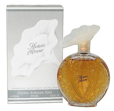 HISTOIRE D'AMOUR Aubusson EDT 3.33 Women Perfume NEW IN BOX