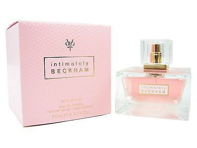 INTIMATELY by David Beckham 2.5 oz for Women Perfume edt NEW IN BOX