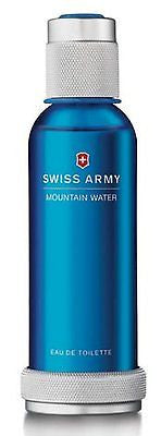 Mountain Water -  SWISS ARMY  Cologne MEN 3.4 oz TESTER
