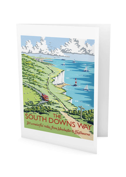 South Downs Way Greeting Card