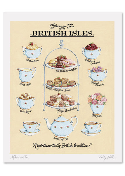 Afternoon Tea Signed Print