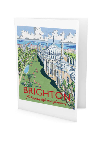 Brighton Pavilion Greeting Card