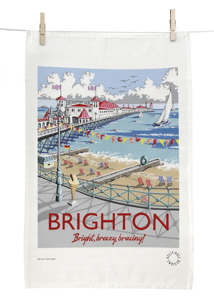 Brighton Pier Tea Towel