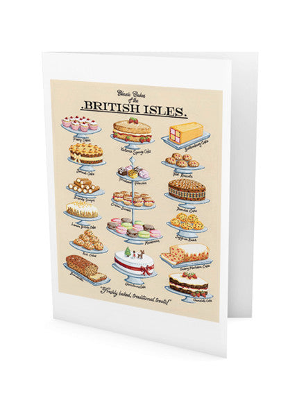 Classic Cakes Greeting Card