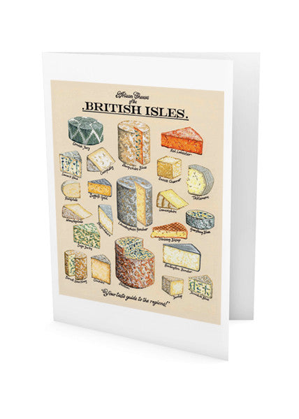 Artisan Cheeses Greeting Card