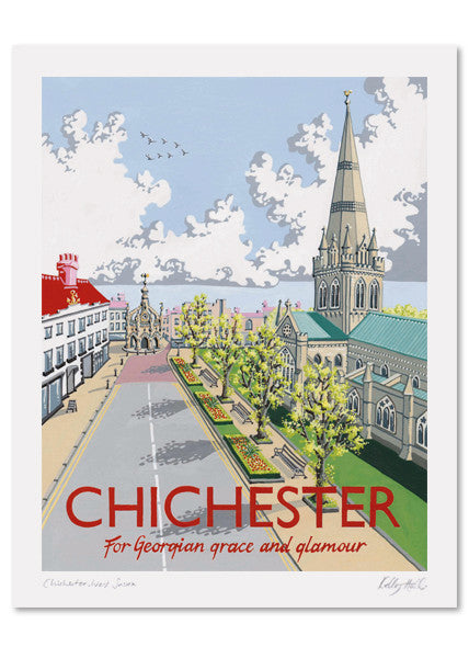 Chichester Signed Print