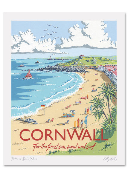 Cornwall Signed Print