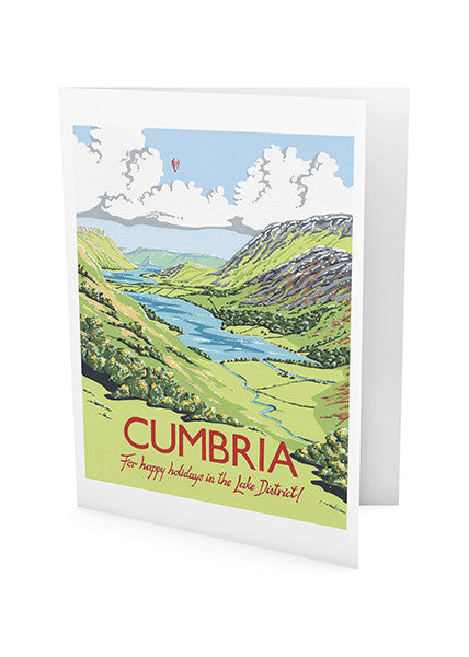 Cumbria Greeting Card