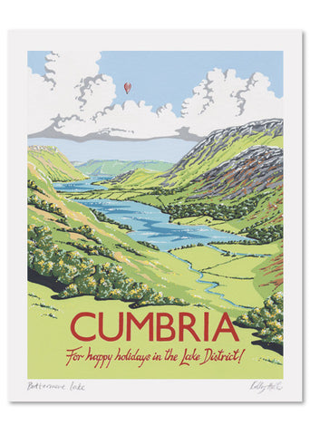 Cumbria Signed Print