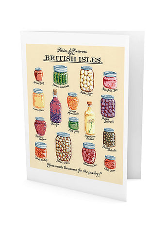 Pickles and Preserves Greeting Card